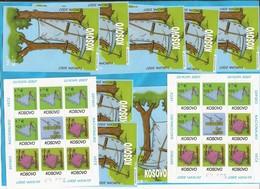 2007  KOSOVO SERBIEN TEIL EUROPA CEPT AUSFERKAUF-GUENSTIG !!!!! 8 SATZ PLUS 8 BLOCKS MNH - 2007