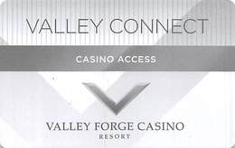 Valley Forge Casino - Valley Forge, PA - Slot Card / Casino Access Card - Casino Cards