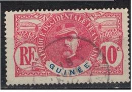 GUINEE              N°     YVERT   37  ( 5 )     OBLITERE       ( Ob  5/18 ) - Usados
