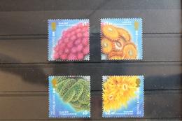 Hongkong 728-731 ** Postfrisch Korallen #RR278 - 1997-... Sonderverwaltungszone Der China