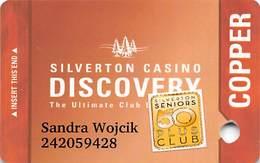 Silverton Casino - Las Vegas, NV - Slot Card With Senior Sticker - Casino Cards
