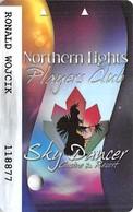 Sky Dancer Casino - Belcourt, ND USA - Slot Card - Casino Cards