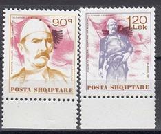 Albania 1991 - Isa Boletini, Mi-Nr. 2462/63, MNH** - Albanien