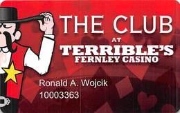 Terrible's Fernley Casino - Fernley NV - Slot Card - Casino Cards