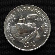 Panama 1 Centésimo 2000 F.A.O. Food Security. Km132. UNC. - Panama