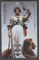 """Télécarte """"LA REPUBLIQUE"""" 25U Utilisée  (tirage:5000) - 25 Eineiten"""