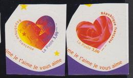 1999-FRANCE N°3220/3221** SAINT VALENTIN - Unused Stamps