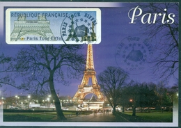FRANCE  Carte Maximum 2009 TOUR EIFFEL Tb. - Maximum Cards