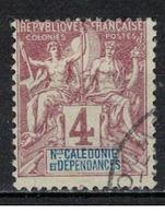 NOUVELLE CALEDONIE              N°     YVERT      43         OBLITERE       ( Ob  5/18 ) - Nueva Caledonia
