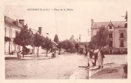 PIE.JMT.19-9367 : HUISMES. PLACE DE LA MAIRIE. - Non Classés