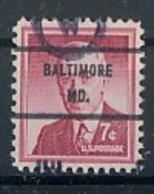 USA Precancel Vorausentwertung Preo -Baltimore - Siehe Scan - Vereinigte Staaten