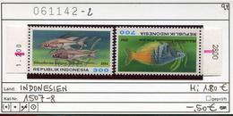 Indonesien - Indonesia - Michel 1507-1508 - ** Mnh Neuf Postfris -  Fische Fishes -  Aber RWZ 900 + 2100 - Indonesien
