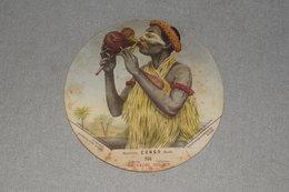 La Vache Qui Rit Belgish Congo Belge N° 206 Magicienne Guérisseuse Gombe Magicien - Chromos