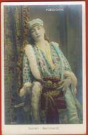 Sarah Bernhardt - Foedora- Downey Phot London - Cpa  Edit Croissant Paris 3695 -  Recto Verso - Artistes