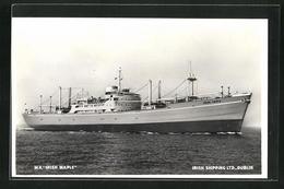 AK Handelsschiff M.V. Irish Maple Auf Hoher See, Irish Shipping Ltd. Dublin - Koopvaardij