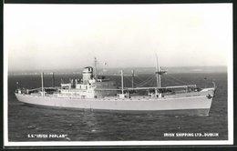 AK Handelsschiff S.S. Irish Poplar Sticht In See, Irish Shipping Ltd. Dublin - Koopvaardij