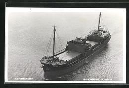AK Handelsschiff M.V. Irish Fern In Fahrt, Irish Shipping Ltd. Dublin - Koopvaardij