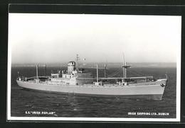 AK Handelsschiff S.S. Irish Poplar Der Irish Shipping Ltd. Dublin - Koopvaardij