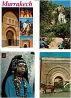 MAROC / Lot 700 C.P.M. écrites - Postkaarten