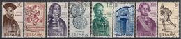 SPANJE - Michel - 1966 - Nr 1645/52 - Gest/Obl/Us - 1931-Aujourd'hui: II. République - ....Juan Carlos I