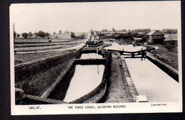 REF 406 : CPSM UK Royaume Uni The Three Locks Leighton Buzzard - Angleterre