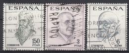 SPANJE - Michel - 1966 - Nr 1653/55 - Gest/Obl/Us - 1931-Aujourd'hui: II. République - ....Juan Carlos I