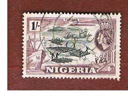 NIGERIA  -  SG 76  -  1953 TIMBER   -  USED * - Nigeria (...-1960)