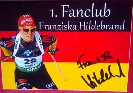 Franziska Hildebrand Signed Sticker - Invierno
