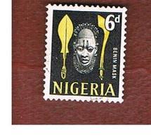 NIGERIA  -  SG 95  -  1961 MASK   -  USED * - Nigeria (1961-...)