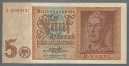 Pick186a  Ro179b DEU-220b.  5 Reichsmark 1942  UNC - [ 4] 1933-1945 : Tercer Reich