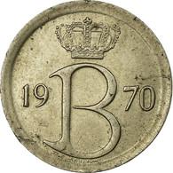 Monnaie, Belgique, 25 Centimes, 1970, Bruxelles, TTB, Copper-nickel, KM:153.2 - 1951-1993: Baudouin I
