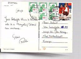 1997 Sent To Fam Schut (arts) Van Imhoffstraat 33 Den Haag (169) - Mongolei