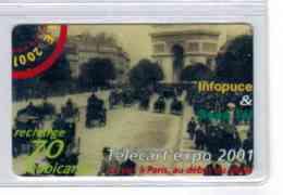 Recharge Mobicarte Telecart'expo 2001 - Voir Scans - France