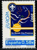 AX0561 Spain 2007 Europa Boy Scouts 1V MNH - 2007