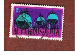 NIGERIA  -  SG 281  -  1973  NATURAL GAS  -  USED * - Nigeria (1961-...)
