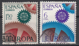 SPANJE - Michel - 1967 - Nr 1682/83 - Gest/Obl/Us - 1931-Aujourd'hui: II. République - ....Juan Carlos I