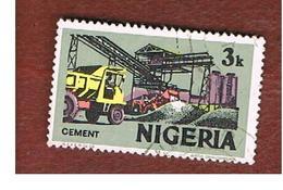 NIGERIA  -  SG 292  -  1973 CEMENT WORKS  -  USED * - Nigeria (1961-...)