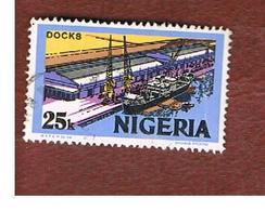 NIGERIA  -  SG 301  -  1973 MODERN WHARF -  USED * - Nigeria (1961-...)