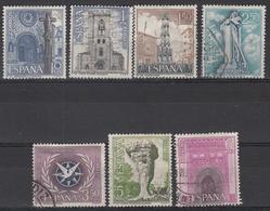 SPANJE - Michel - 1967 - Nr 1692/98 - Gest/Obl/Us - 1931-Aujourd'hui: II. République - ....Juan Carlos I