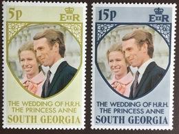 South Georgia 1973 Royal Wedding MNH - Südgeorgien