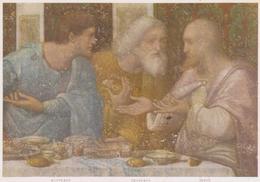 Cartolina Raffigurazioni Sacre-ultima Cena -leonardo Da Vinci - Cristianesimo