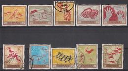 SPANJE - Michel - 1967 - Nr 1665/74 - Gest/Obl/Us + (*) - 1931-Aujourd'hui: II. République - ....Juan Carlos I
