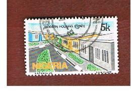 NIGERIA  -  SG 515  -  1986  MODERN HOUSING ESTATE              -  USED * - Nigeria (1961-...)