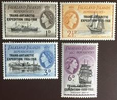 Falkland Islands Dependencies 1958 Trans Antarctic Expedition MNH - Islas Malvinas