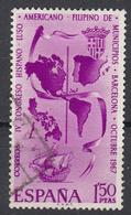 SPANJE - Michel - 1967 - Nr 1710 - Gest/Obl/Us - 1931-Aujourd'hui: II. République - ....Juan Carlos I