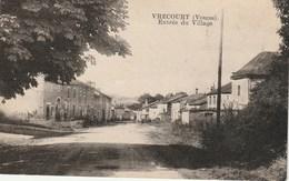 CPA 88 (Vosges)  VRECOURT ( 386 Habitants)  L'ENTREE DU VILLAGE - France