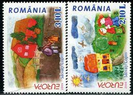 AX0565 Romania 2006 Europa Children's Painting 2V MNH - 2006