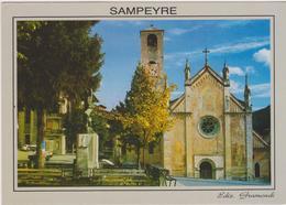 Cartolina Chise-chiesa -sampeyre - Chiese E Conventi
