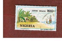 NIGERIA  -  SG 525ba -  1992  LEKKI BEACH     -  USED * - Nigeria (1961-...)