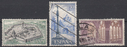 SPANJE - Michel - 1967 - Nr 1728/30 - Gest/Obl/Us - 1931-Aujourd'hui: II. République - ....Juan Carlos I
